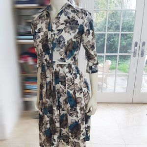 NWOT Samantha Sung Shirtwaist Dress, SZ 2. Sublime
